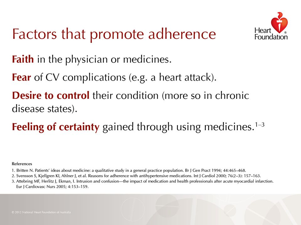 © 2012 National Heart Foundation of Australia Slide 20