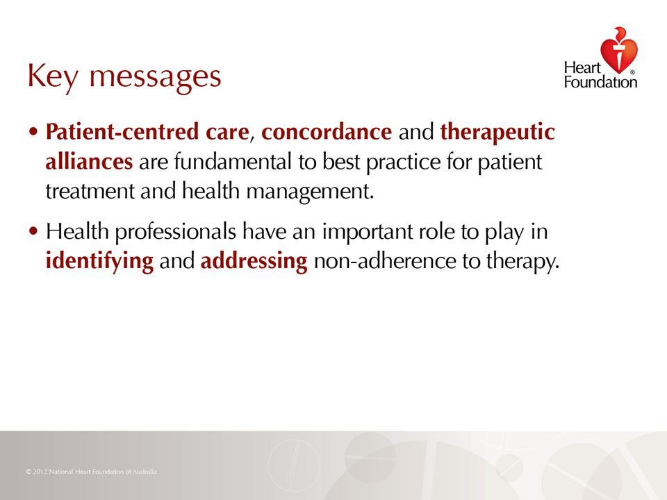 © 2012 National Heart Foundation of Australia Slide 29