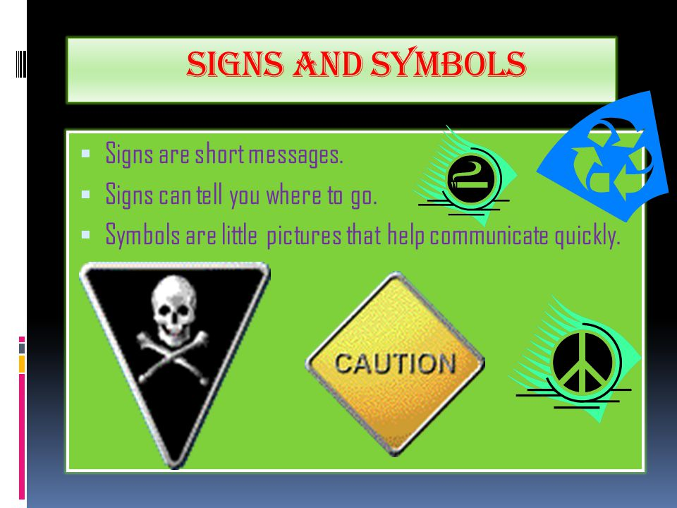 By Molly Contents Spoken Signs And Symbols Written