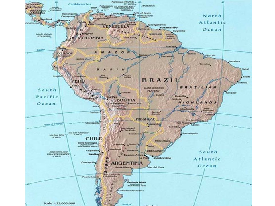 CH. 7 South America Geography and History - ppt video online download