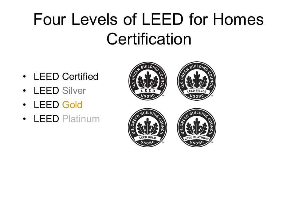 Planning For Leed Leadership In Energy And Environmental Design