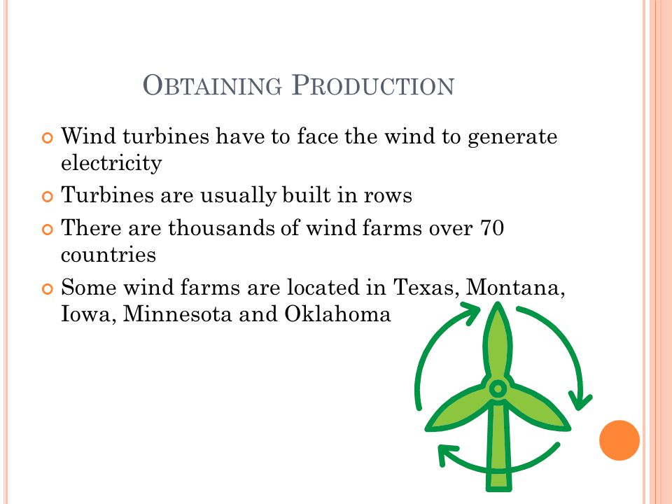 H ISTORY O F W IND Windmills are wind driven machines Europeans built the first windmill in the 1100s In 1888 Charles F Brush built the first large windmill in Cleveland,OH The First wind farms were built in California, Denmark & Germany