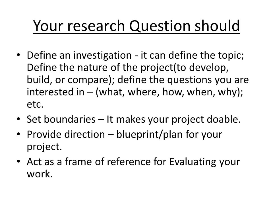 What makes a good dissertation a dissertation is as good as the your research question should define an investigation it can define the topic define the malvernweather Gallery