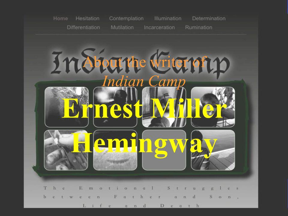 indian camp hemingway theme