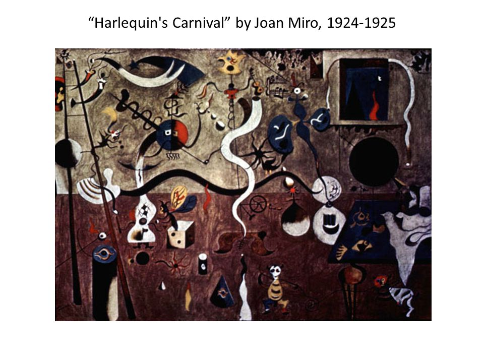 Harlequin s Carnival by Joan Miro, 1924-1925