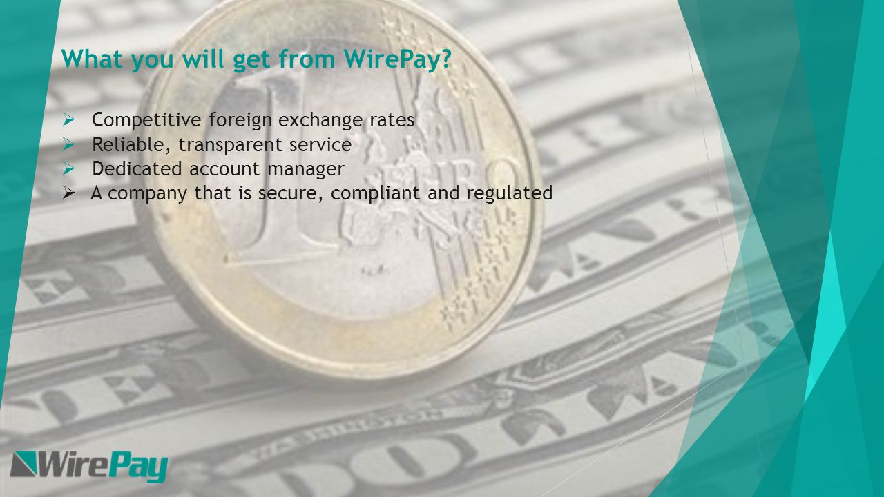 Your Trusted Foreign Exchange Provider Who Are Wirepay Wiring Money Fees What We Did For Client Sending Funds To Israel