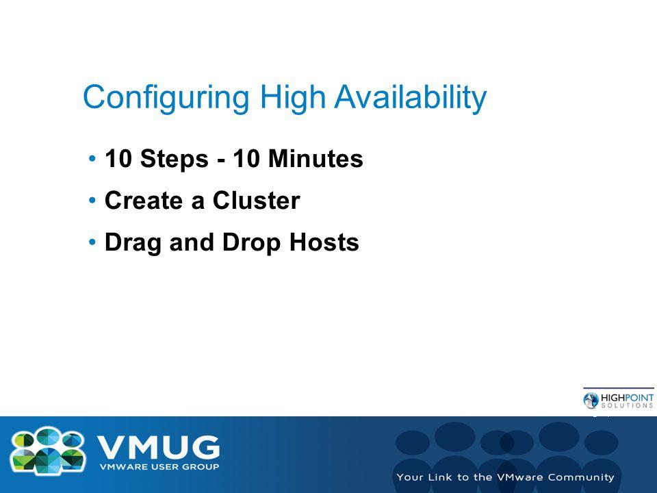 VMware vSphere 5 Clustering Technical Deepdive