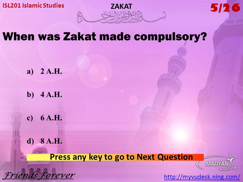 ISL201 Islamic Studies ZAKAT  - ppt download