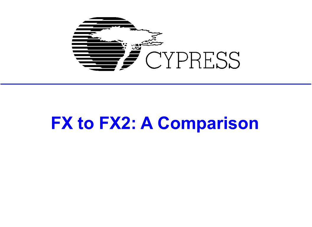 Fx To Fx2 A Comparison Agenda Block Diagram Evolution Hardware 1