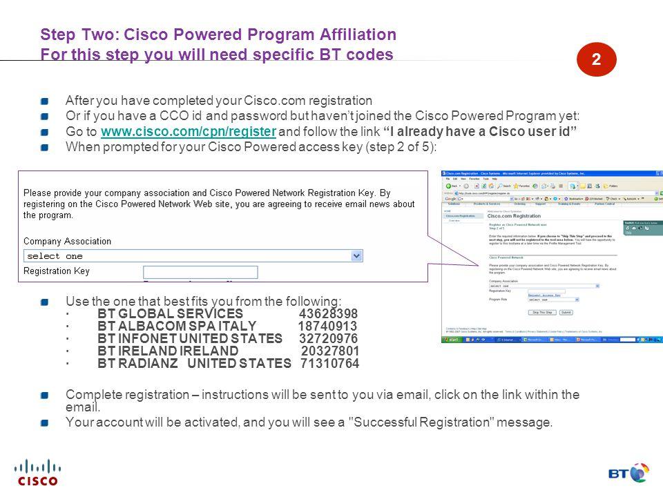 The new BT Cisco Portal BT Cisco Partnership Team February 29 th ppt