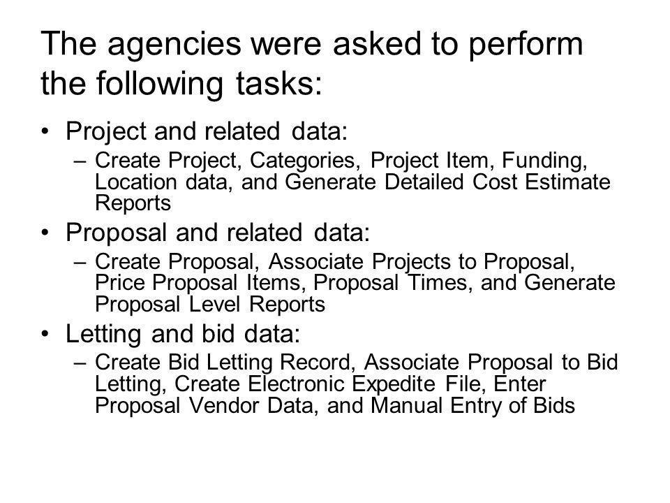 Web Trnsport Agency Feedback  Agencies Visited: Florida DOT Indiana