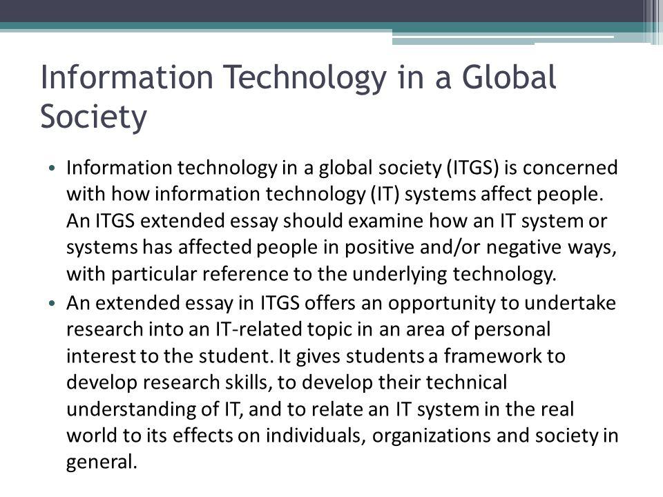essay information technology - Hizir kaptanband co