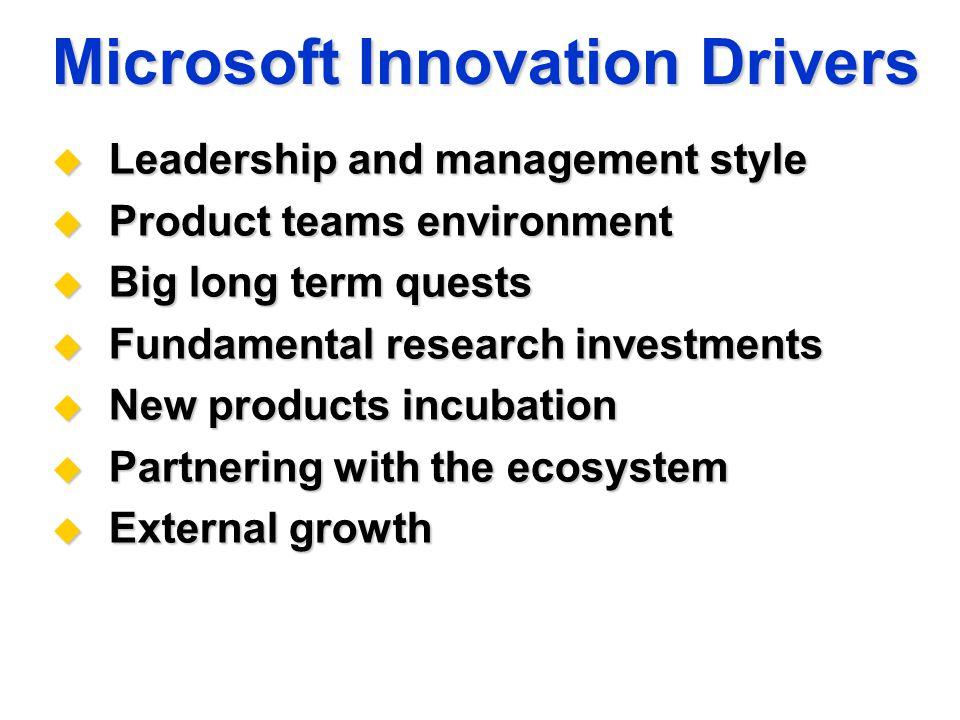 microsoft management style