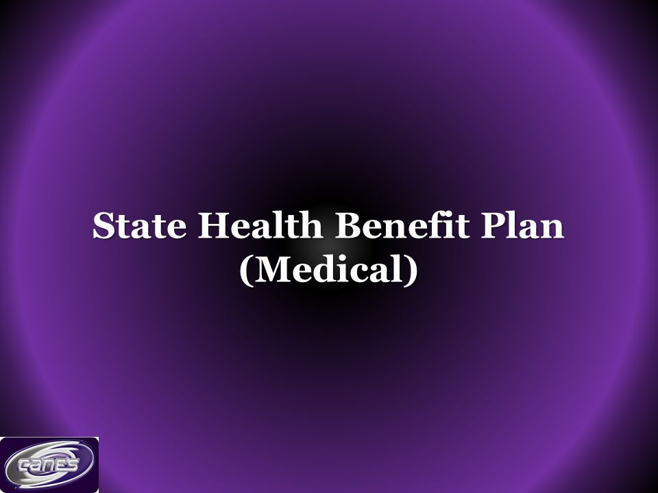 State Health Benefit Plan (Medical)