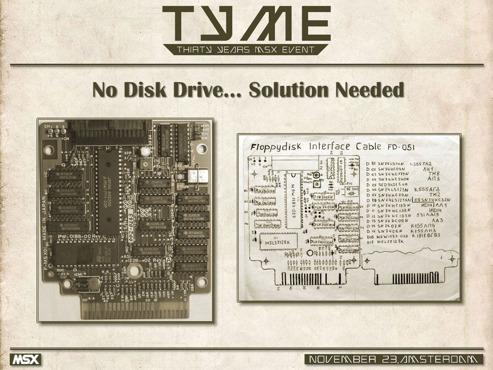 No Disk Drive… Solution Needed