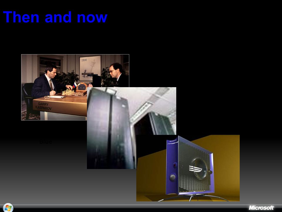 1997: Kasparov v. Deep Blue 2006: Play Station 3