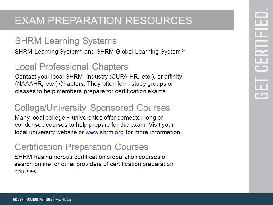 Phr Certification Preparation Course Online Writings And Essays