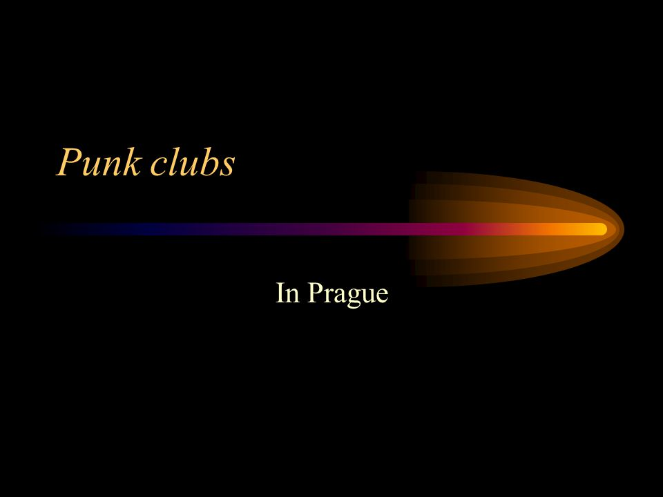 Punk clubs In Prague