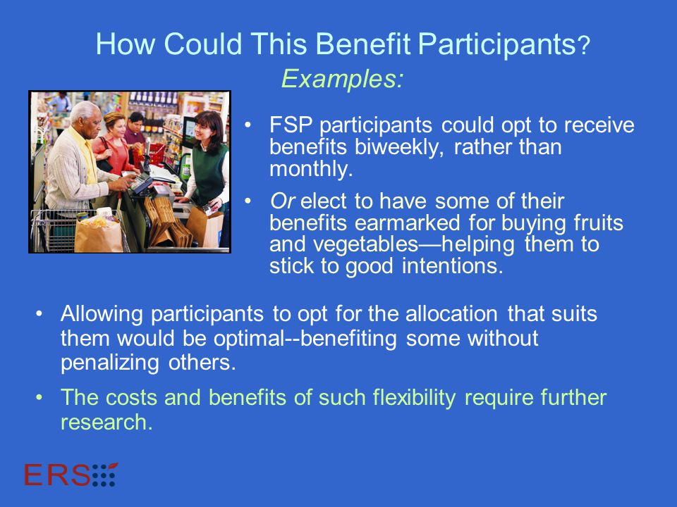 How Could This Benefit Participants .