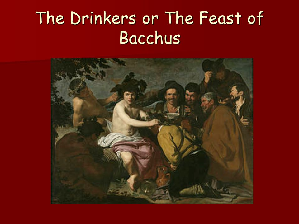 The Drinkers or The Feast of Bacchus
