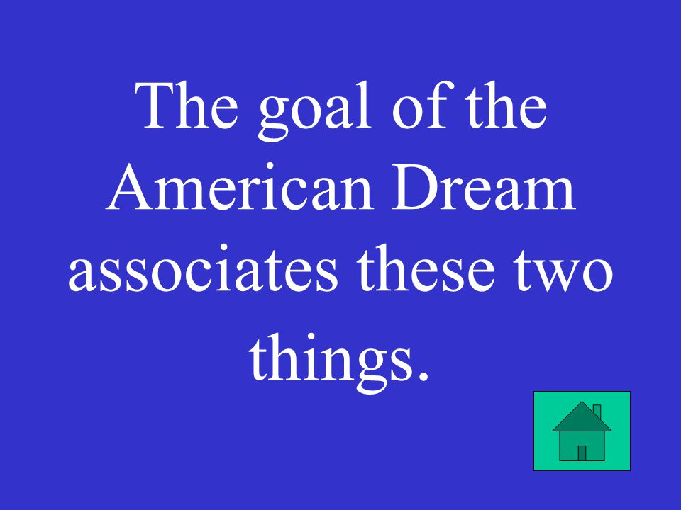 when did the american dream originate