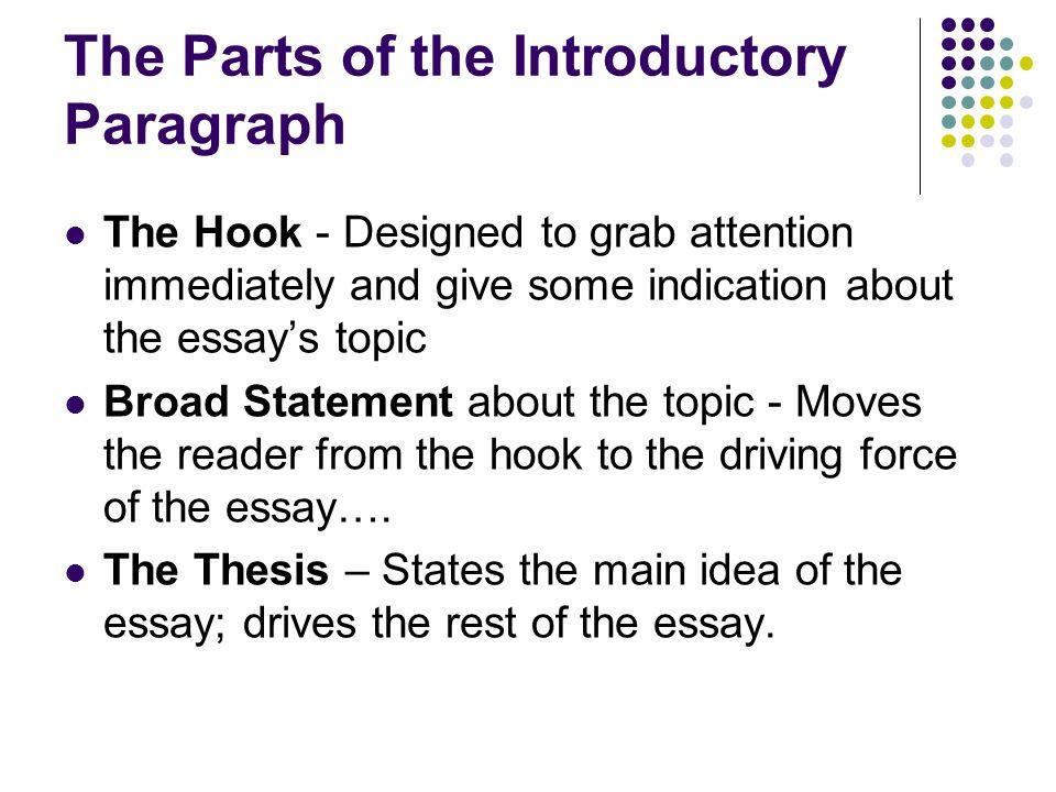 parts of a good paragraph