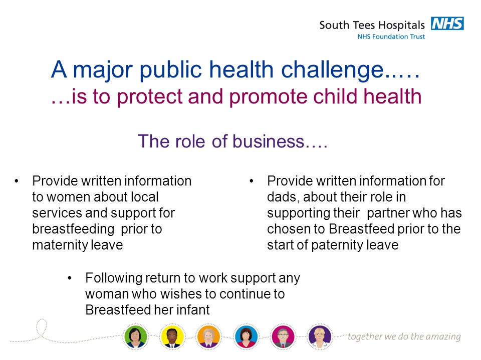 A major public health challenge..… …is to protect and promote child health The role of business….