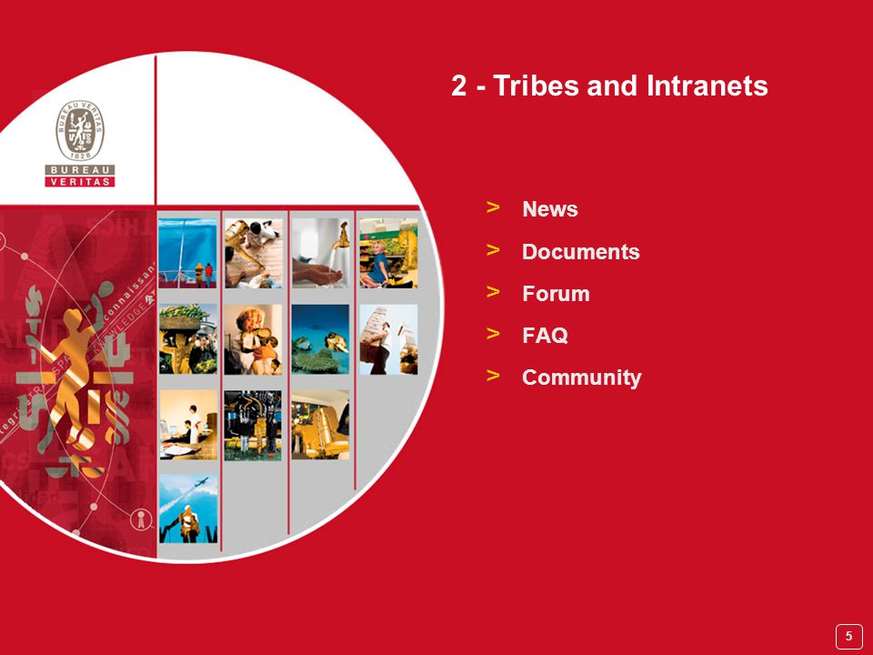 5 > News > Documents > Forum > FAQ > Community 2 - Tribes and Intranets