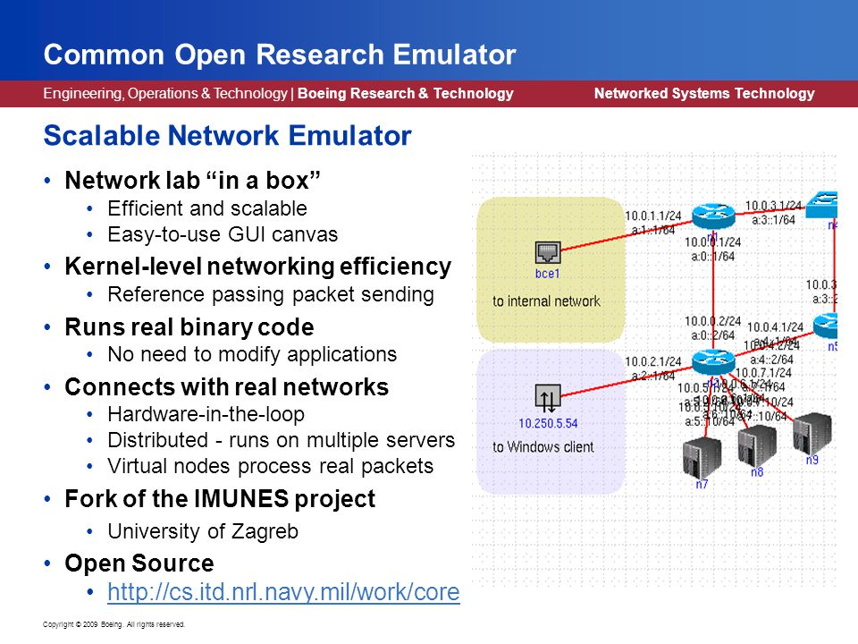 UW EE Colloquium Feb Network Simulation and Emulation in a Testbed