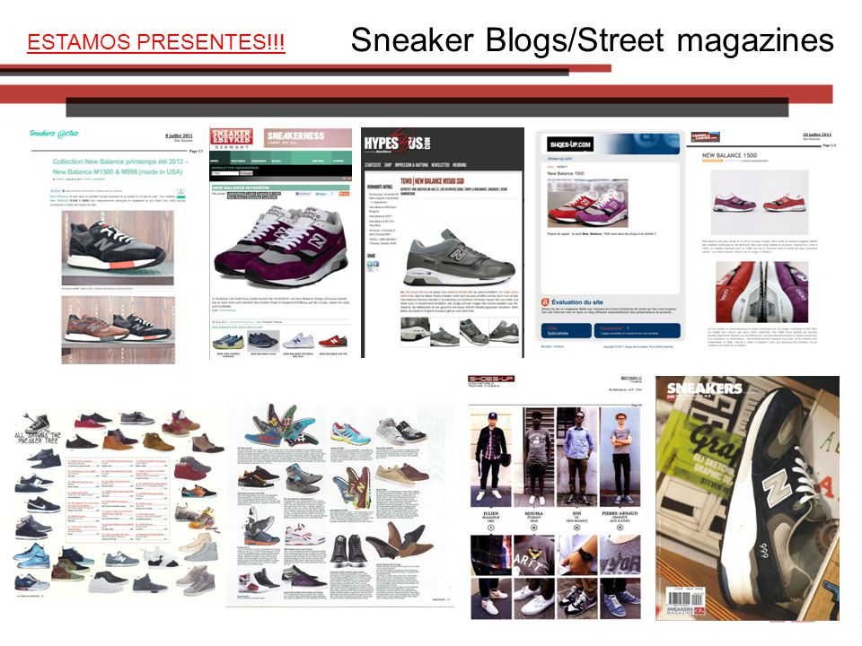 Sneaker Blogs/Street magazines ESTAMOS PRESENTES!!!