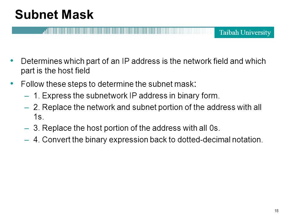 Objectives: Chapter 4: IP Addressing  Internet