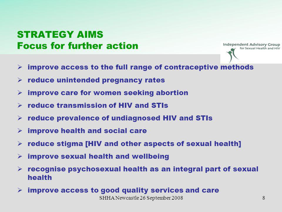 Hiv sexual health independent advisory group hiv