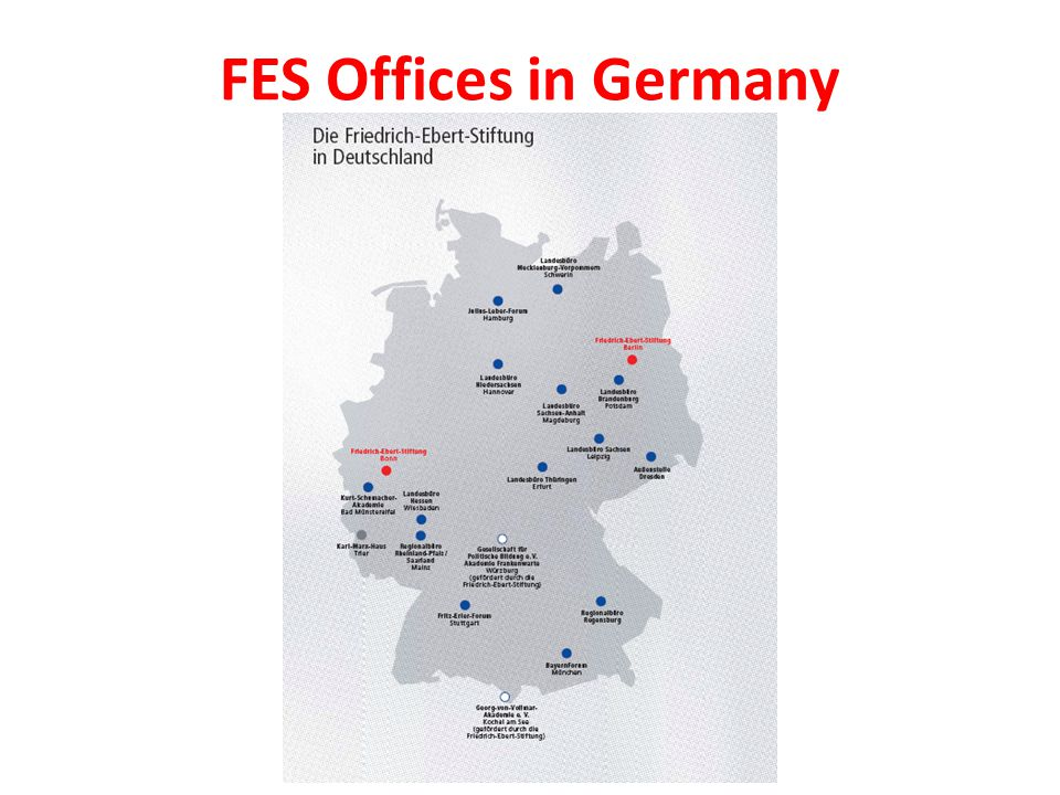 FES Offices in Germany
