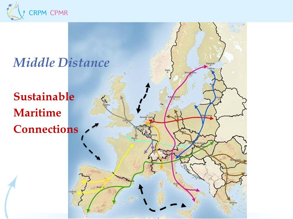 Middle Distance Sustainable Maritime Connections