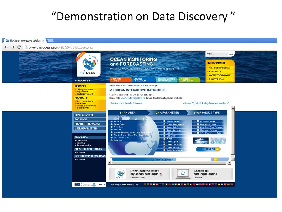 Demonstration on Data Discovery
