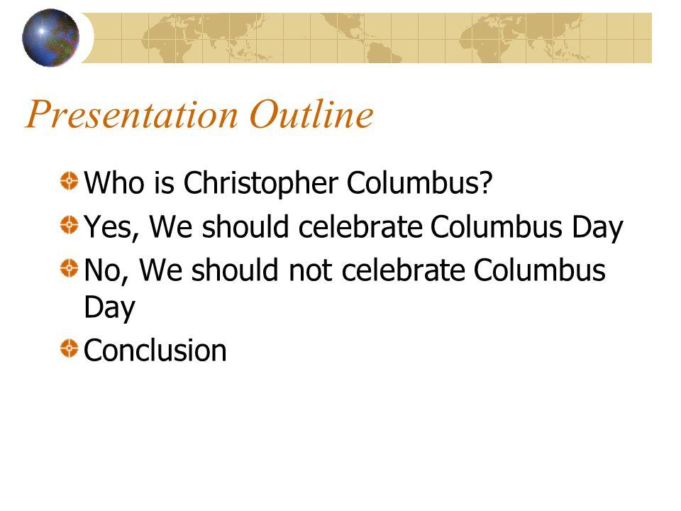 christopher columbus outline