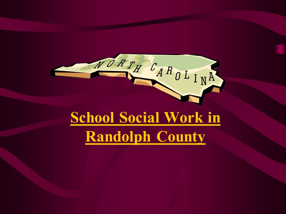 School Social Work in Randolph County