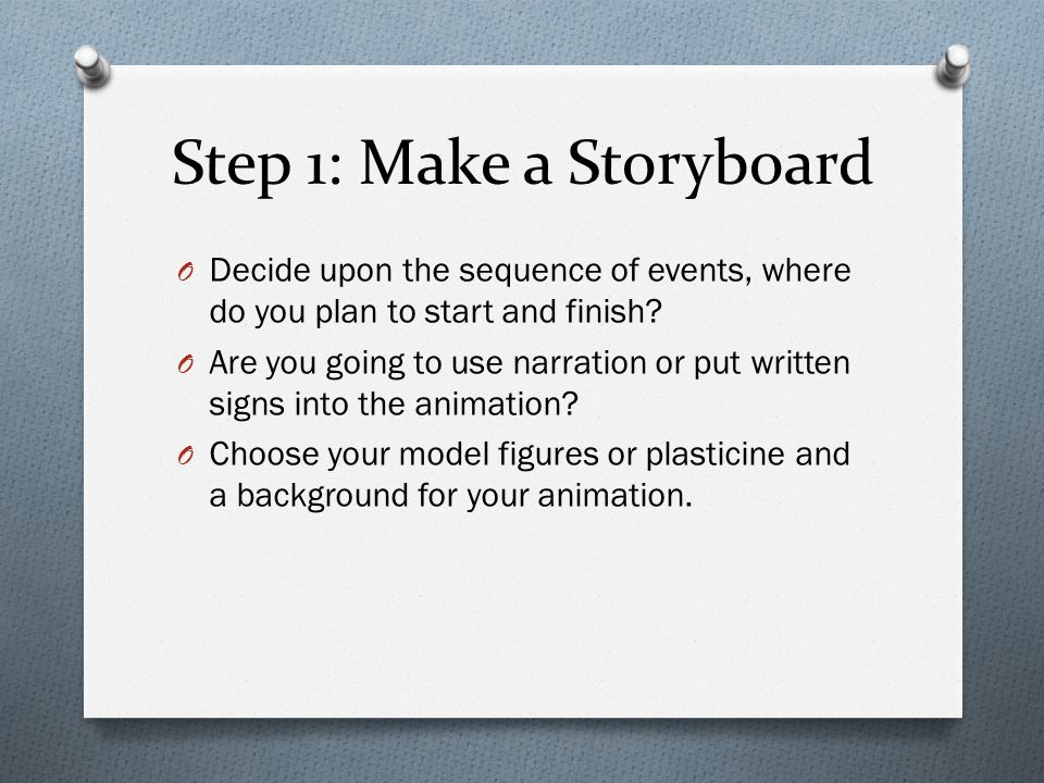 Using Photography and Stop- Frame Animations Some ideas for stop ...