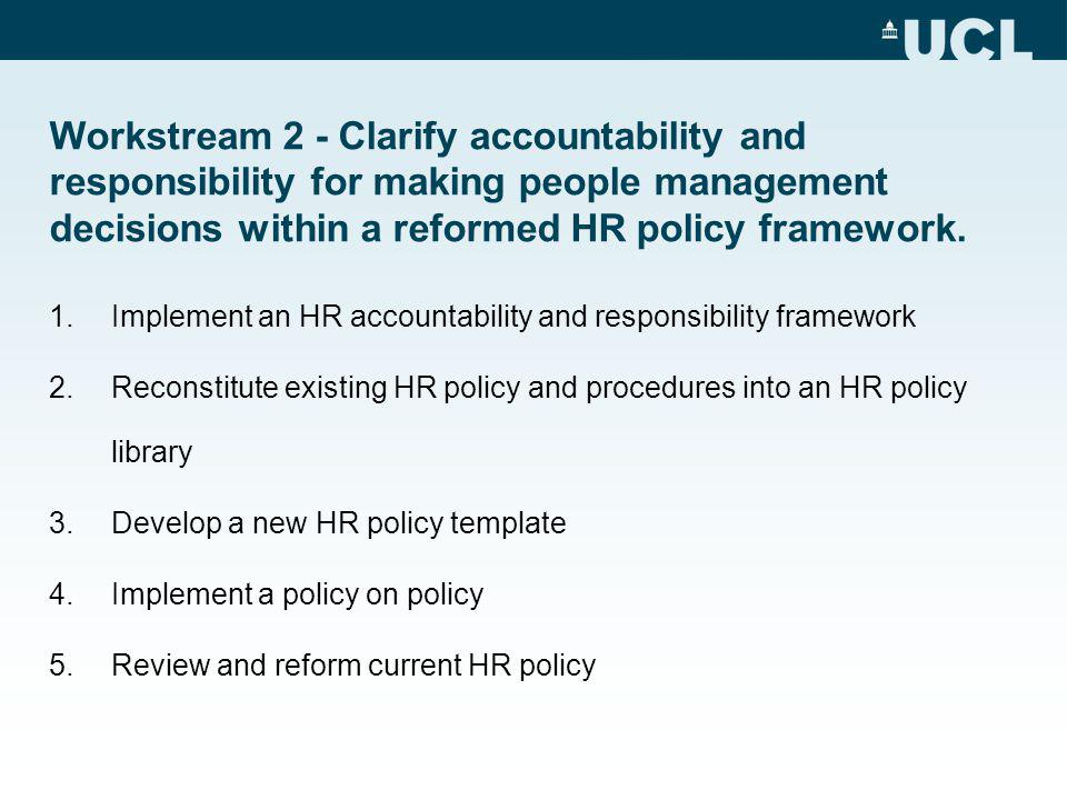 Proposed HR Operational Plan 2011 An Overview HR User Group Meeting ...