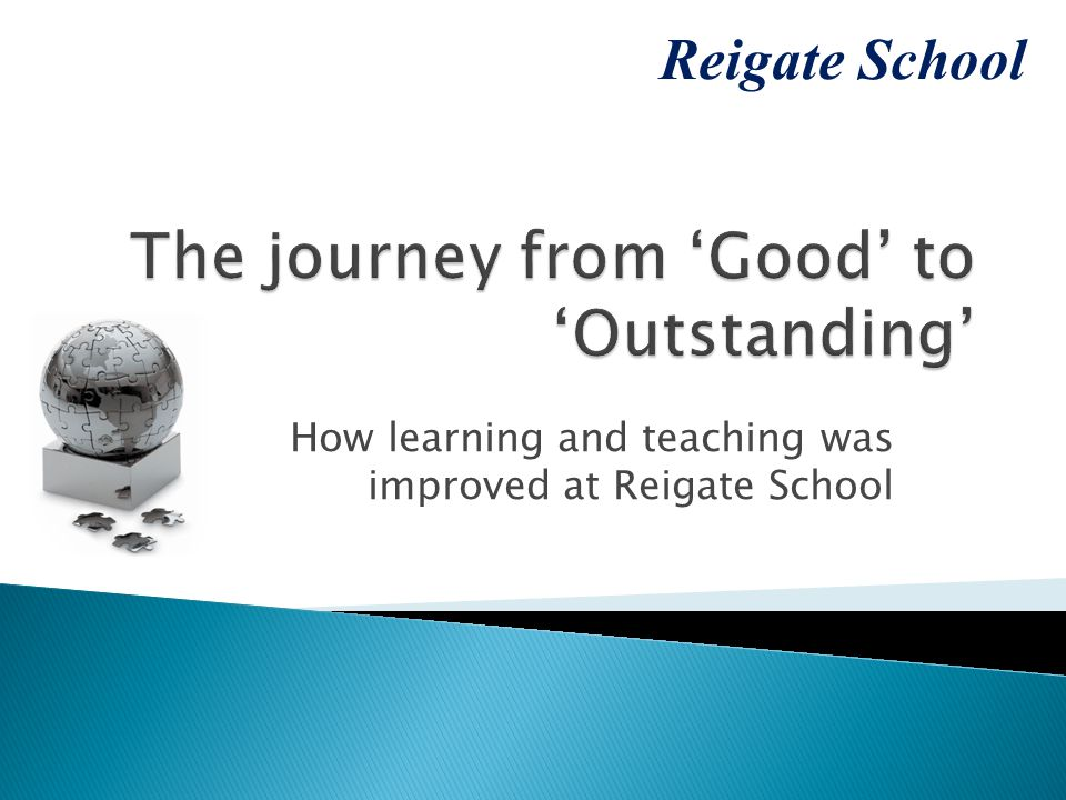 How learning and teaching was improved at Reigate School Reigate School