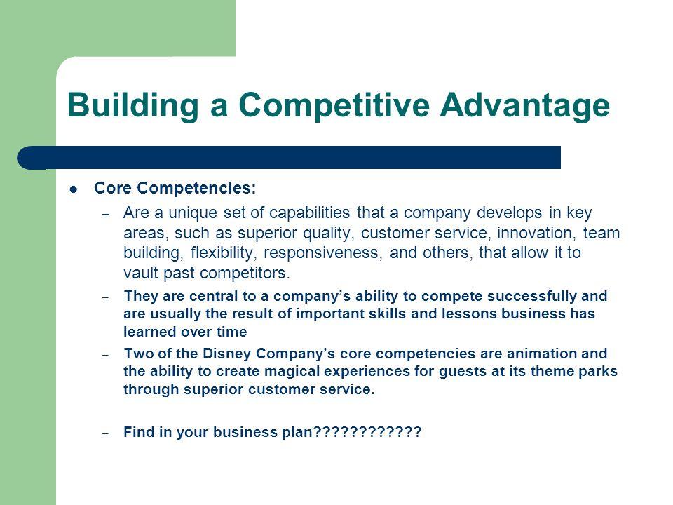 disney core competencies