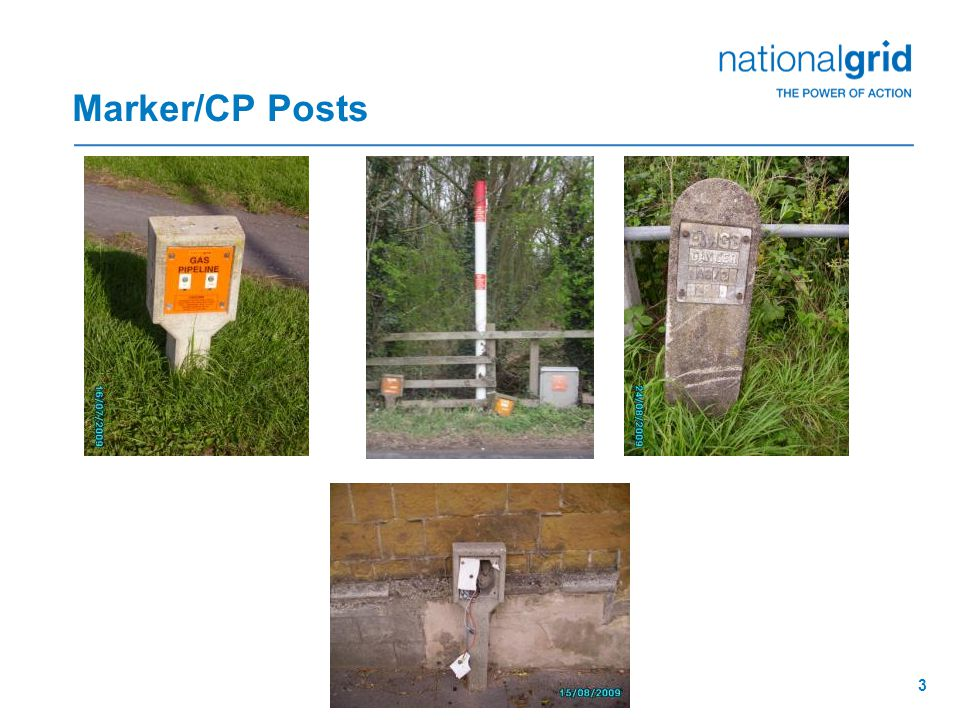 Marker/CP Posts 3