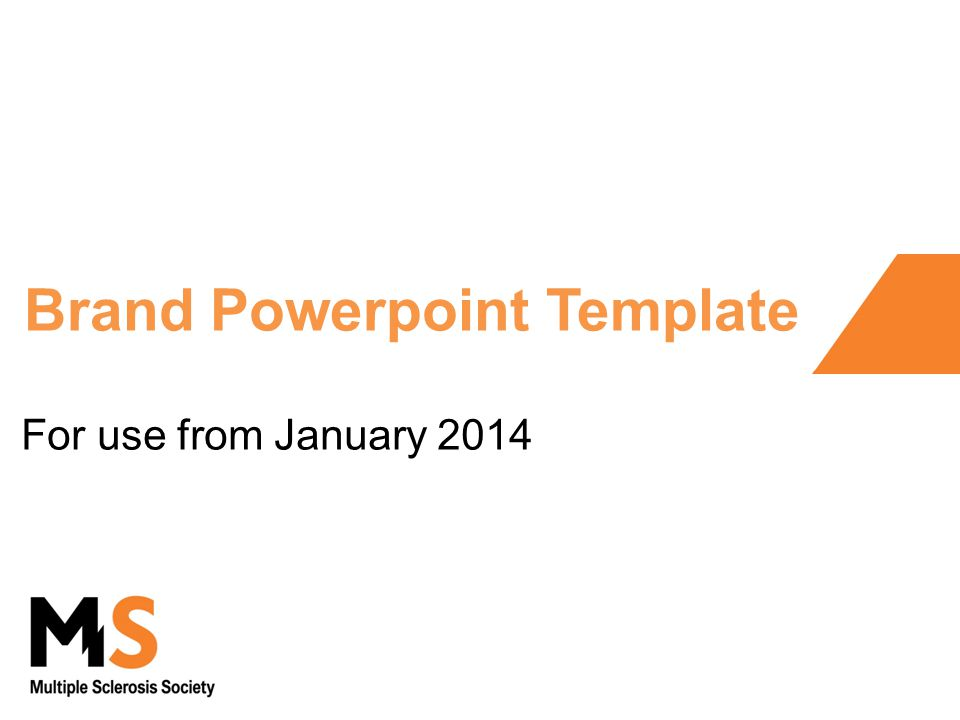 Brand Powerpoint Template For Use From January Ppt Download