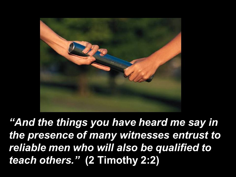 "67 A.D. PREACH THE WORD 2 Timothy 4: 1-5 ""And the things you have ..."