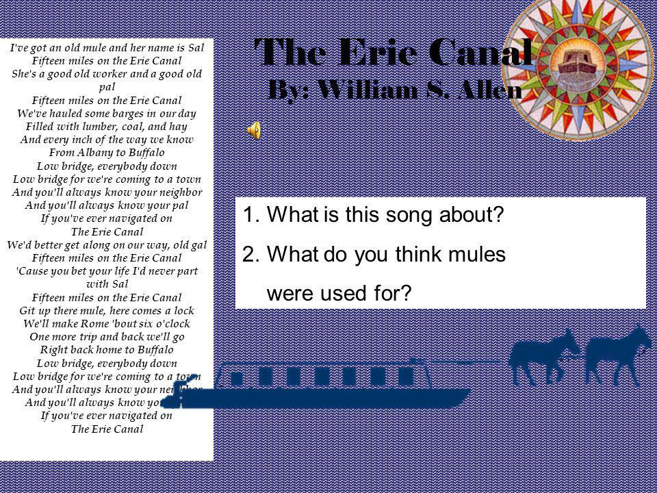 The Erie Canal The Ditch That Made New York By Jamie Lynn Bates