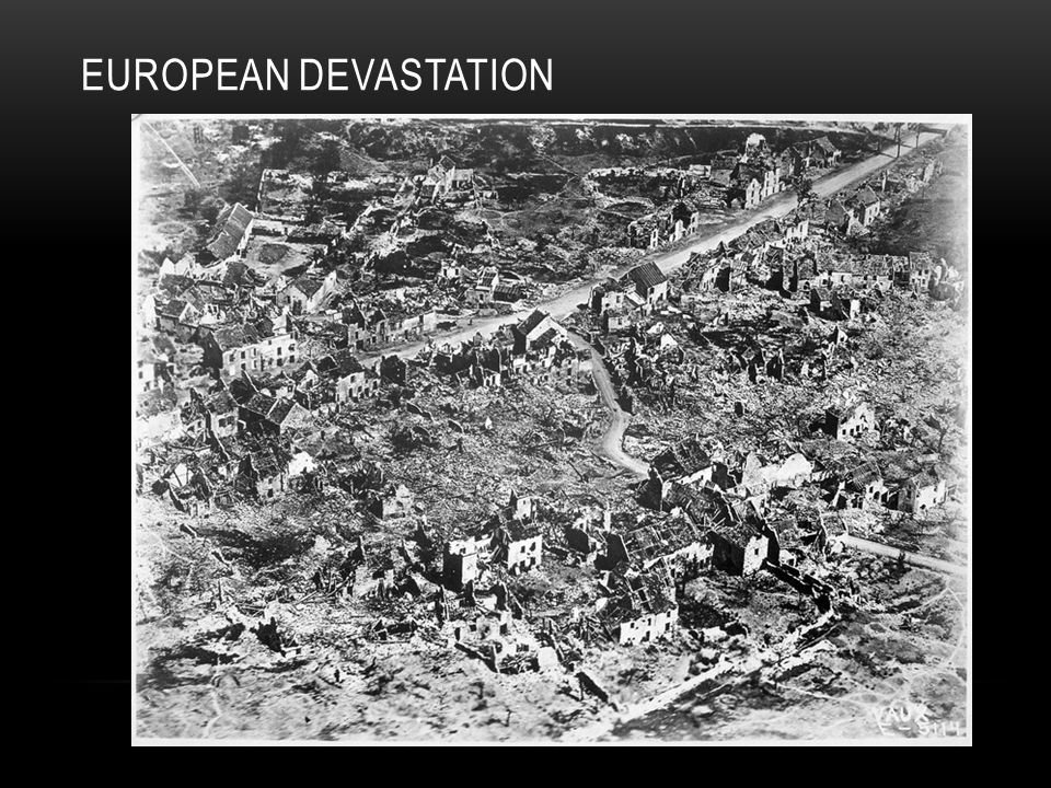 EUROPEAN DEVASTATION