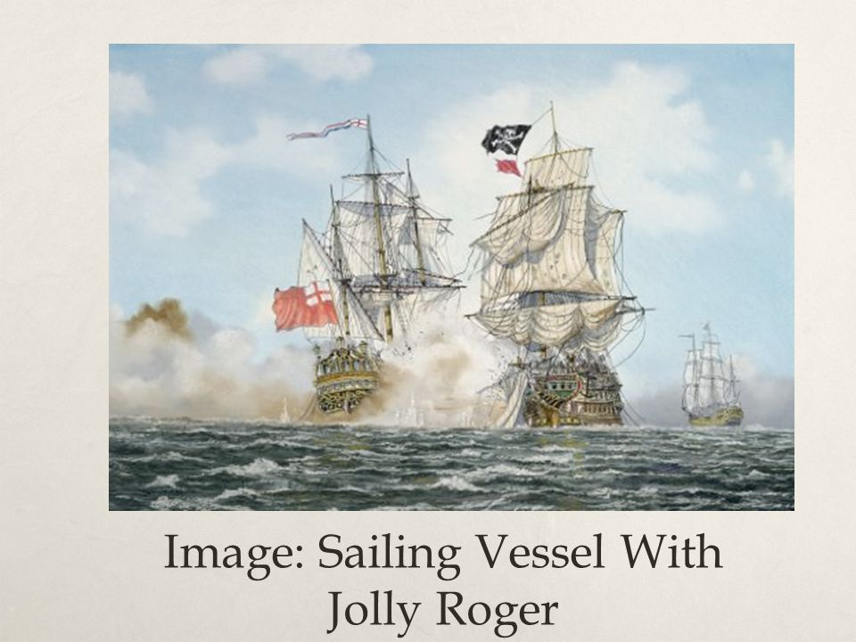 Image: Sailing Vessel With Jolly Roger