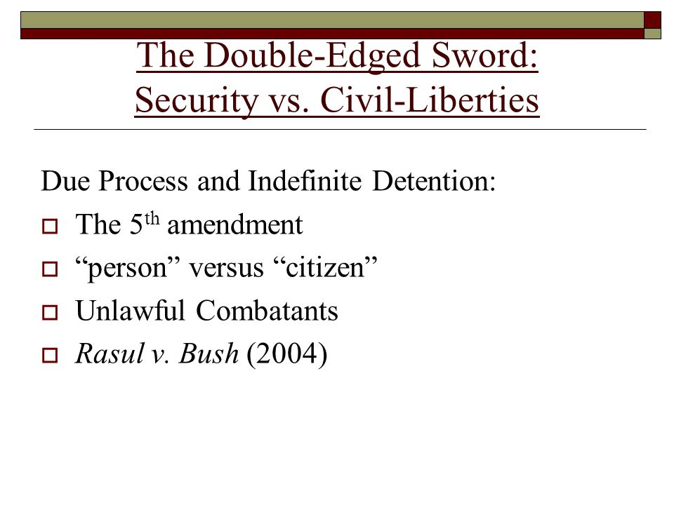 The Double-Edged Sword: Security vs.
