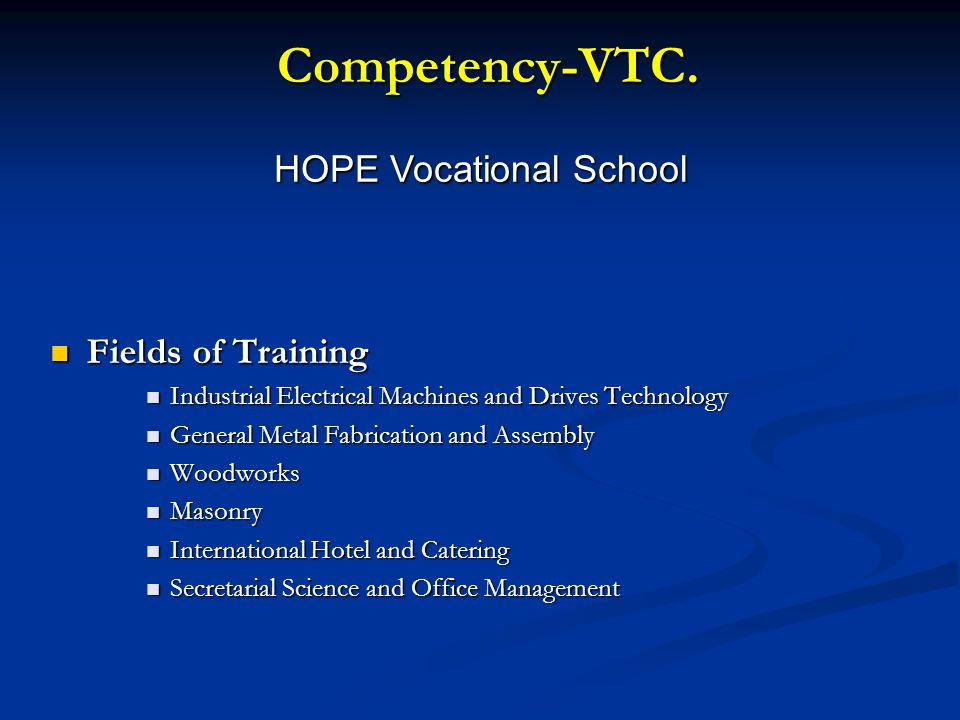 Competency-VTC.