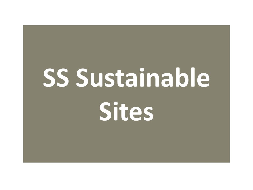 SS Sustainable Sites